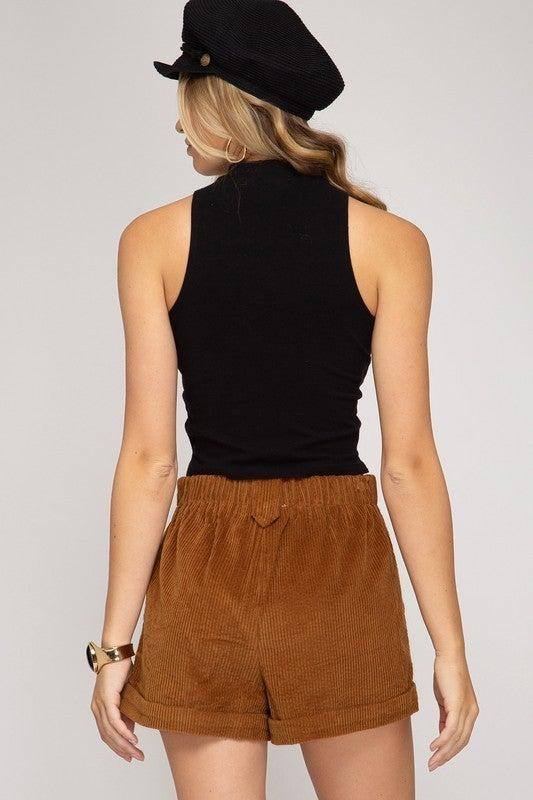 London Boy Shorts - Camel