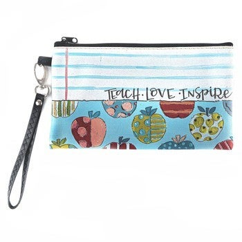 *FINAL SALE* Teach Zippered Pouch by Brownlow Gifts