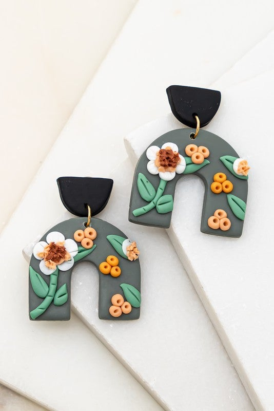Cover Me In Flowers Earrings