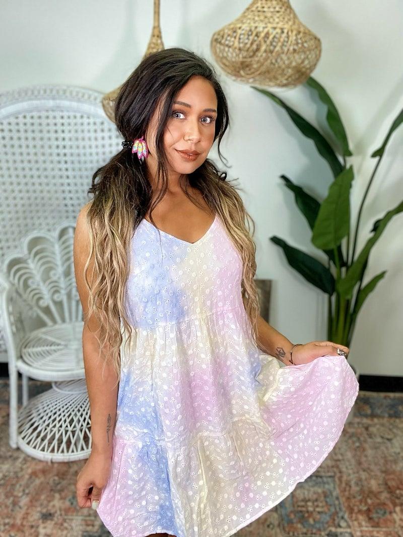 Subtlety Is My Specialty Dress - Rainbow