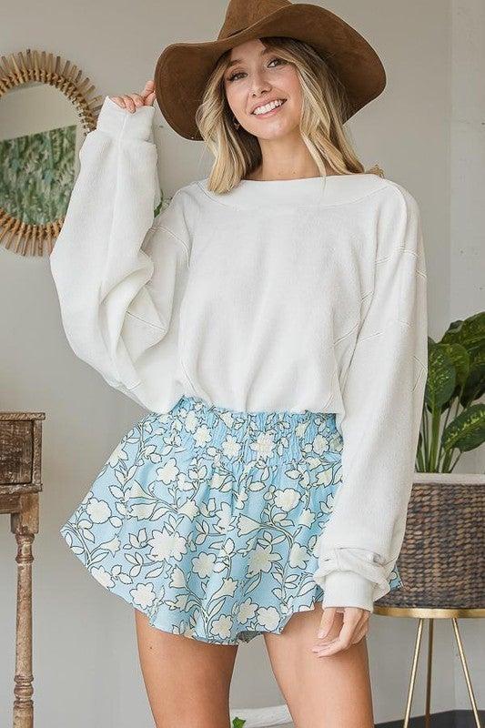 Sienna Twist Sweatshirt Top