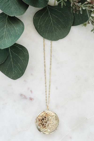 My Secret Locket Necklace