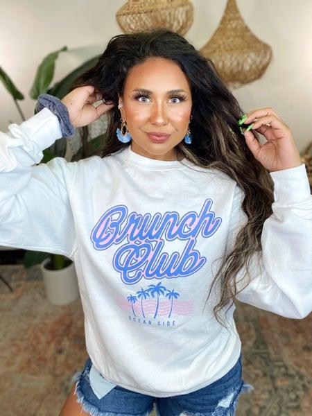 Brunch Club Graphic Sweatshirt