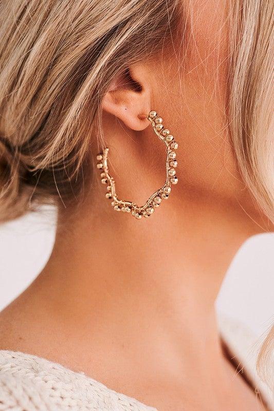 Beaded Beauty Earrings