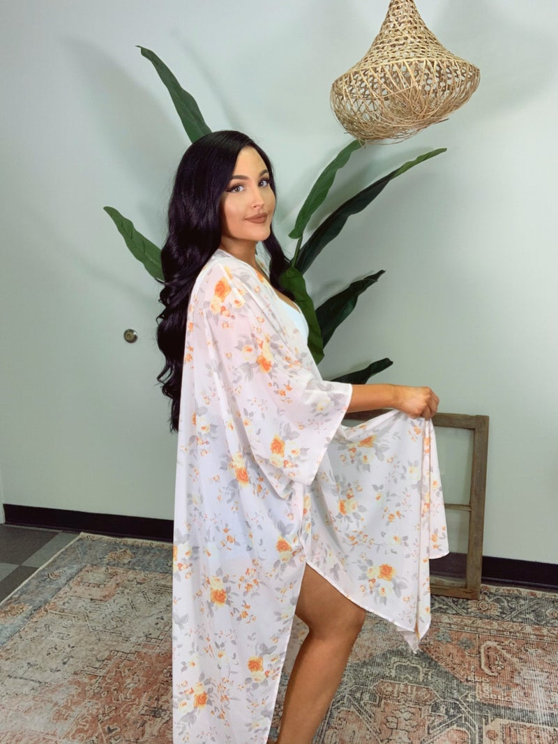 Diva Dream Kimono - Orange