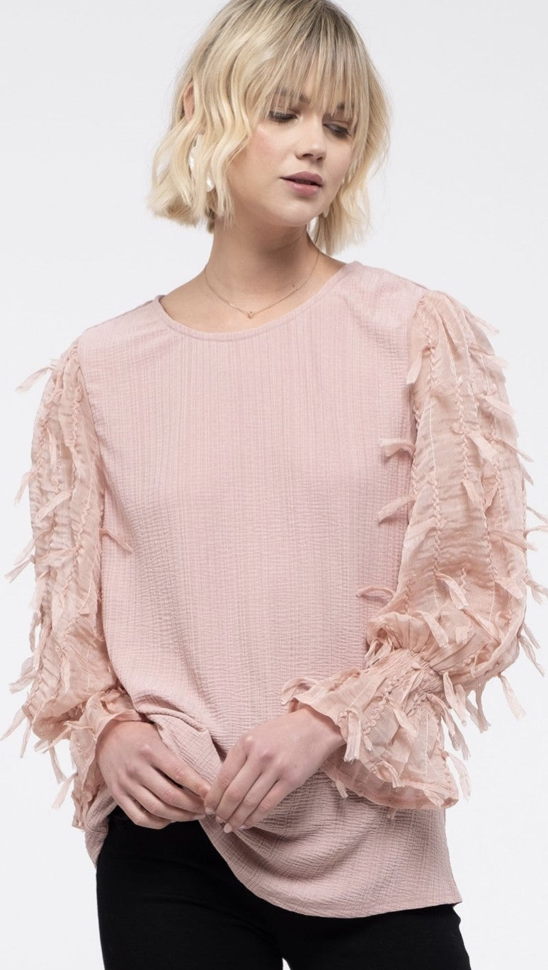 *FINAL SALE* Textured for Fun Top
