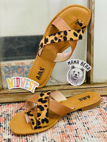 Wild and Sass Sandals - Leopard