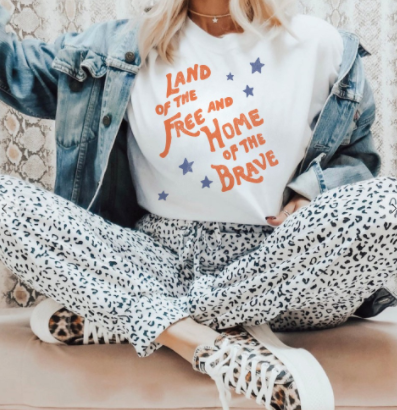 Land Of The Free  Graphic Tee