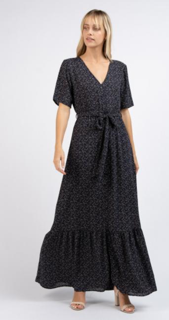 Garden Delight Maxi Dress
