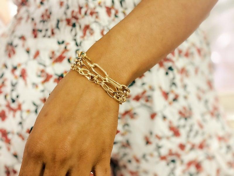 Linked Together Bracelets