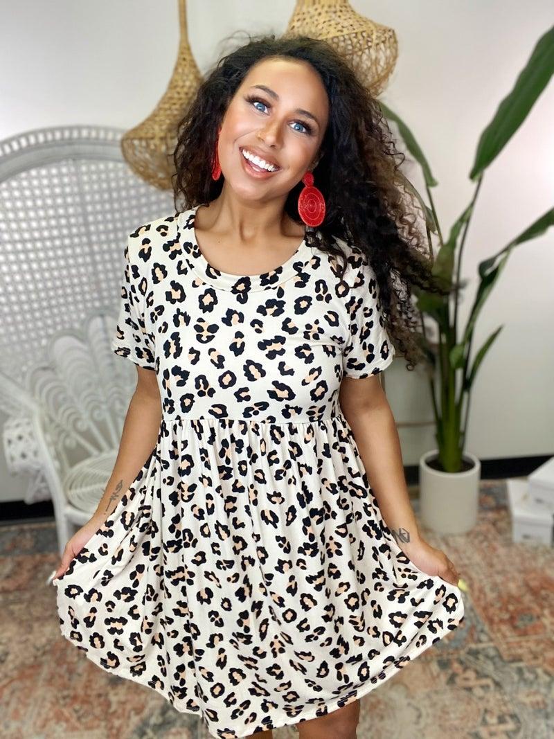 All My Love Leopard Dress
