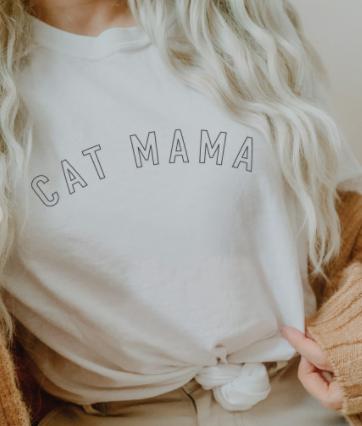 Cat Mama Graphic Tee