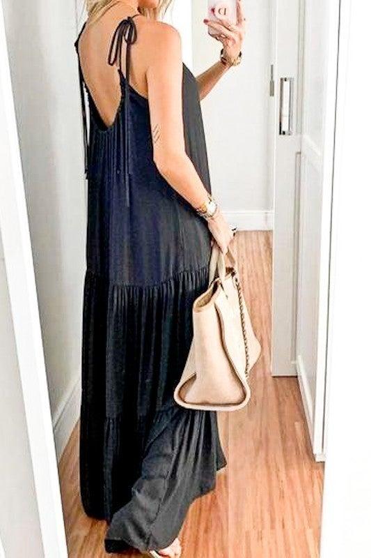 My Night Out Dress - Black