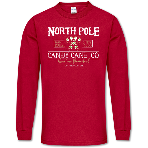 *FINAL SALE* North Pole Tee by Southern Couture