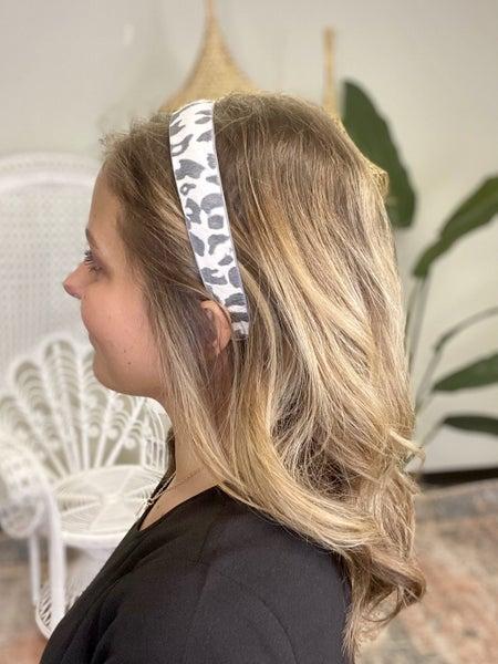 Large Leopard Print Headband