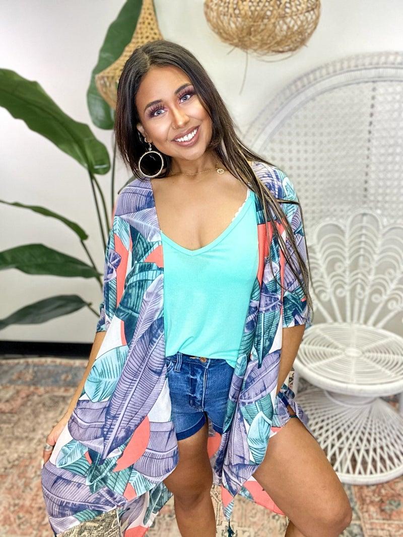 Tropical Paradise Kimono
