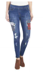 *FINAL SALE* OMG Patchwork Skinny