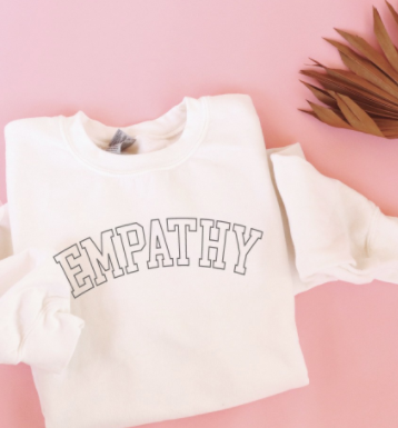 Empathy Graphic Pullover