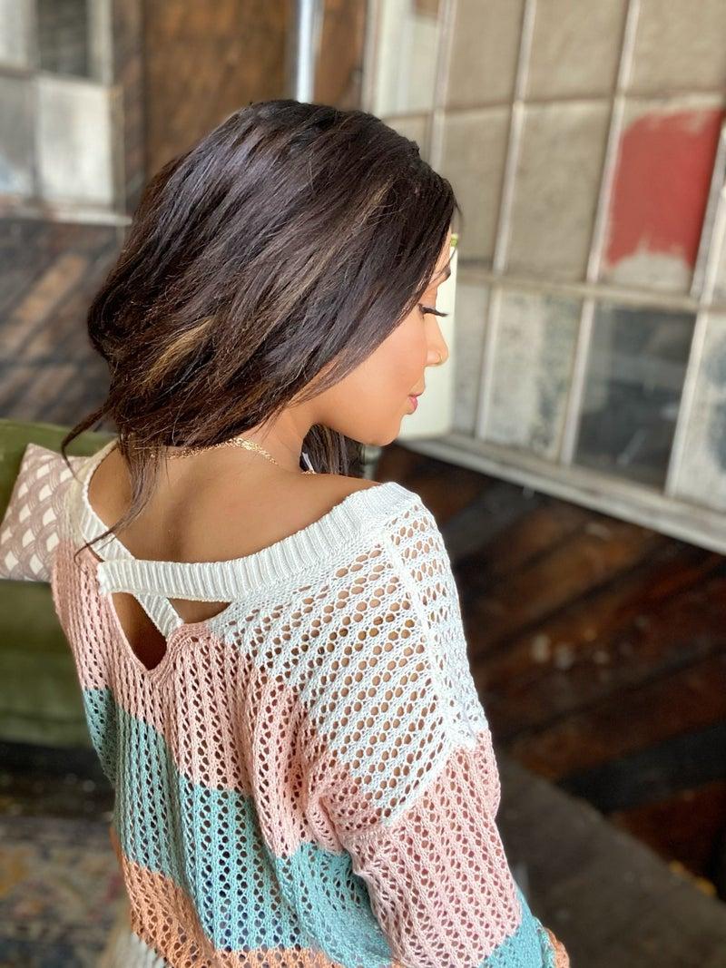 Maci Lace Sweater