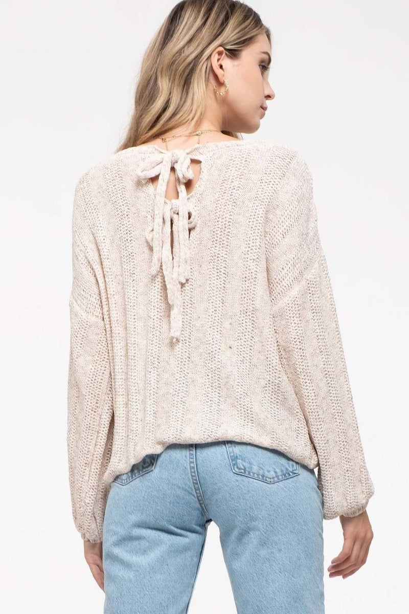 All Dolled Up Sweater