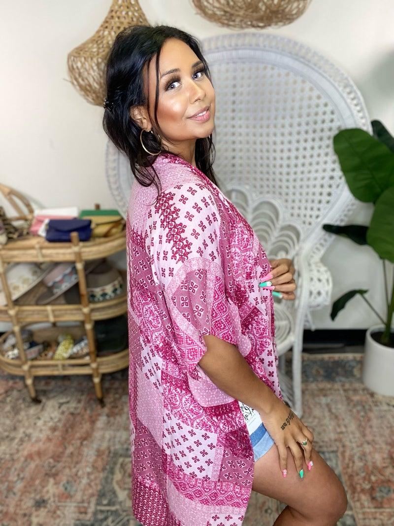 Patch Me Up Kimono