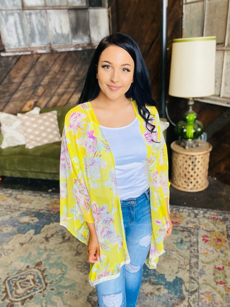 Love's Been Good To Me Kimono - Yellow