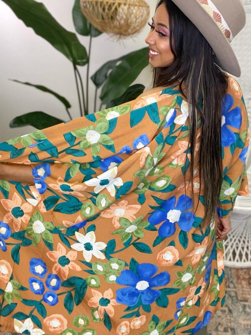 Floral Days Kimono