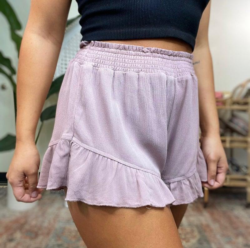 Daybreak Frill Shorts