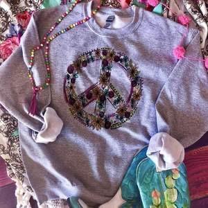 The Boho Peace Sweatshirt