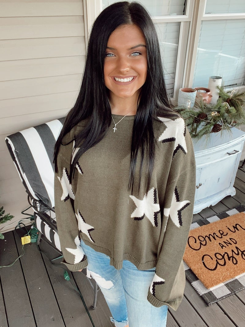 Ring My Bell Sweater