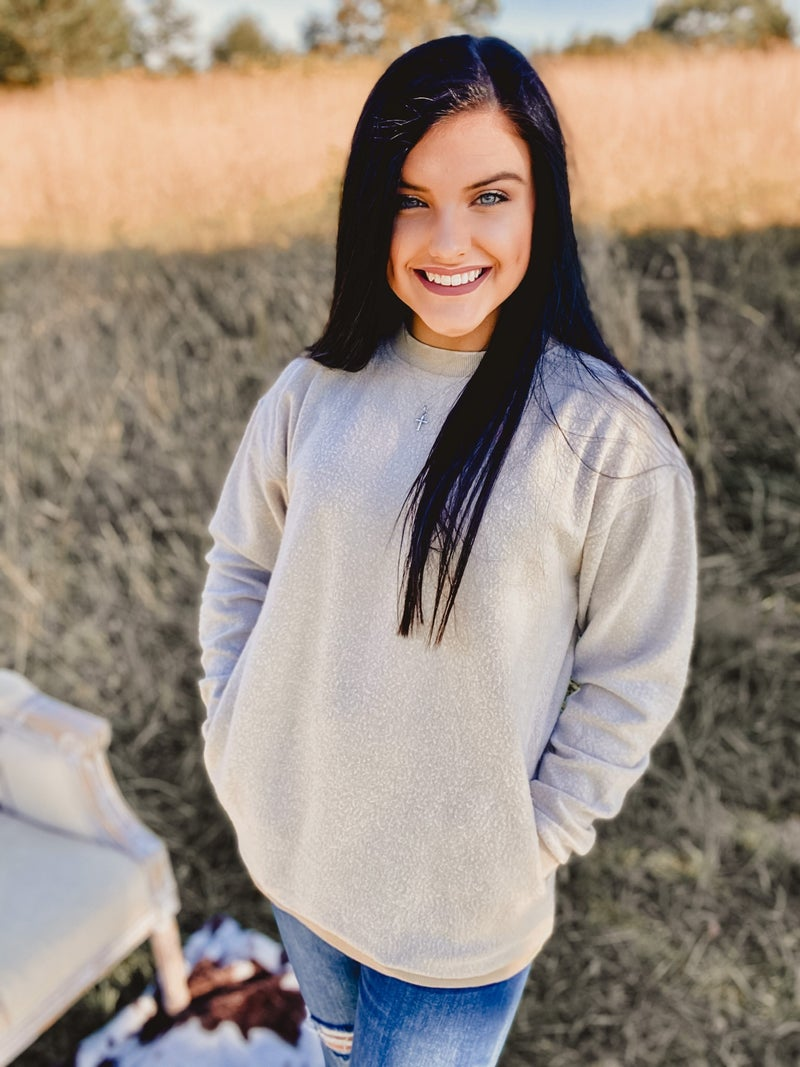 The Cozy Sweatshirt