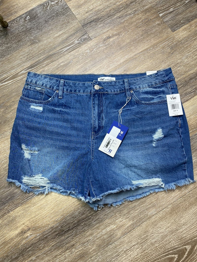 High Rise City Shorts