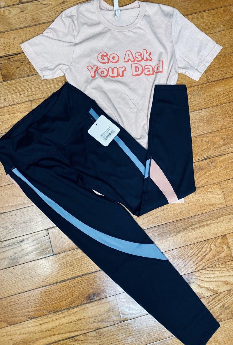 Workin On My Fitness Yoga Pants