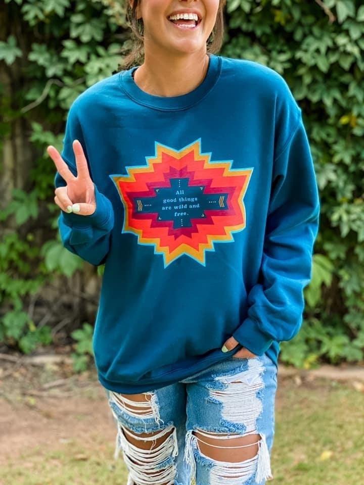 Wild & Free Sweatshirt