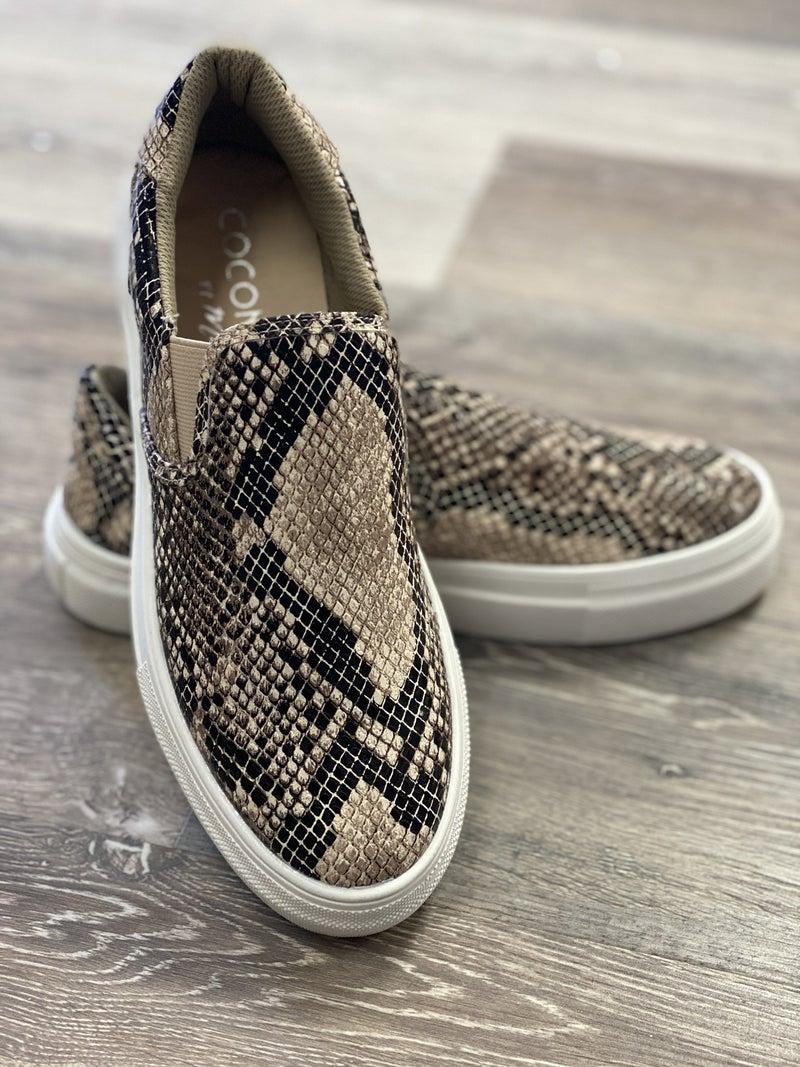 Natural Snake Sneaker