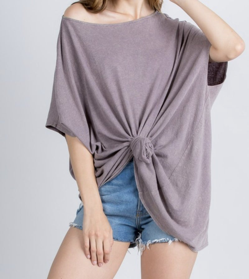 All Is Well Poncho Top