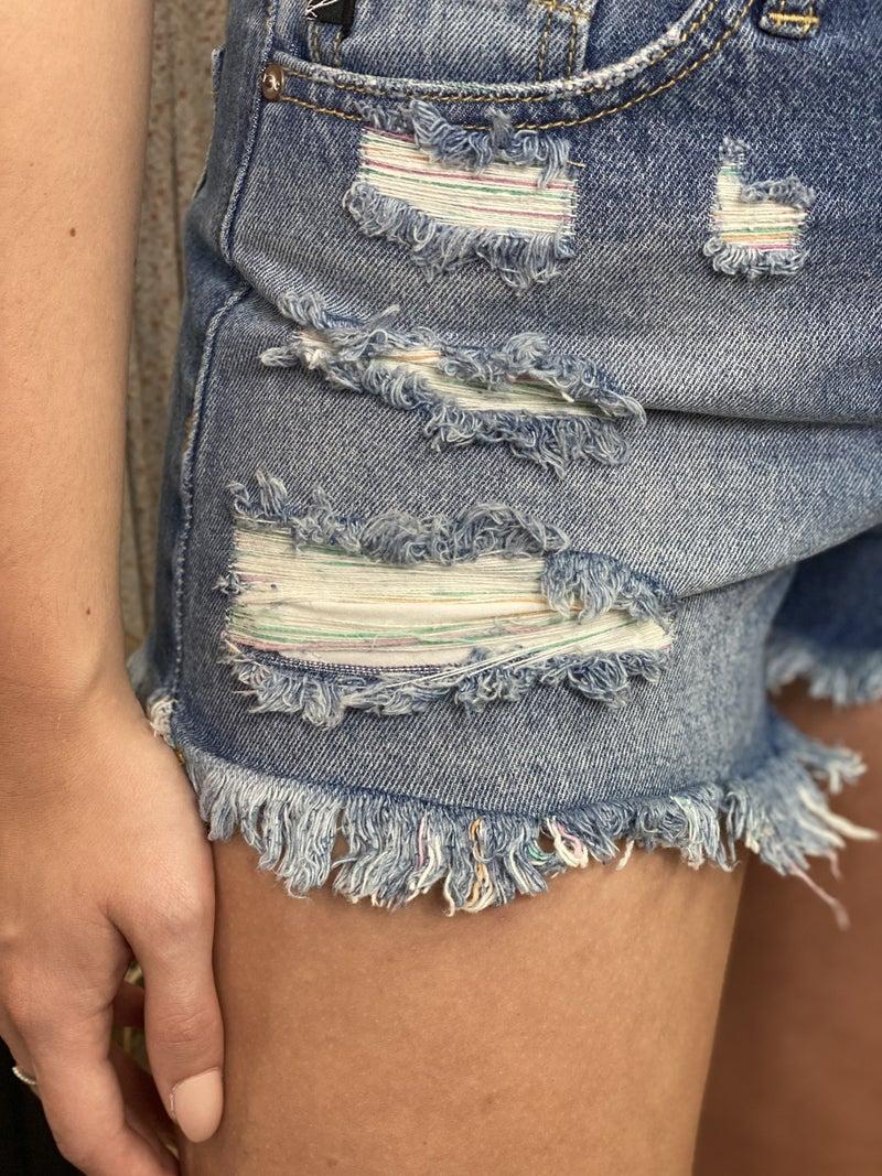 All The Pretty Girls Denim Shorts
