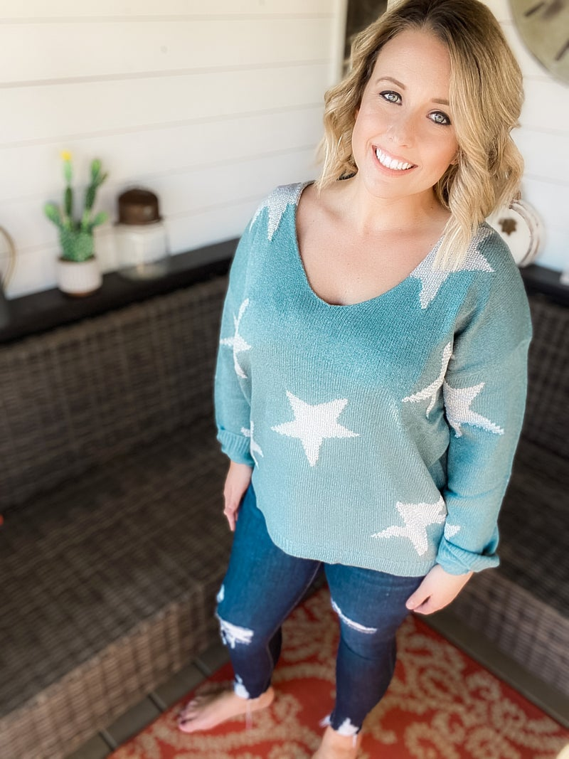 Holiday Star Sweater
