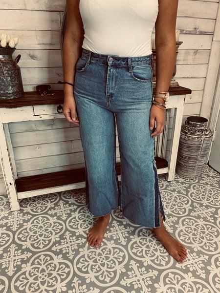 Not Yo Ma's Wide Leg Jeans