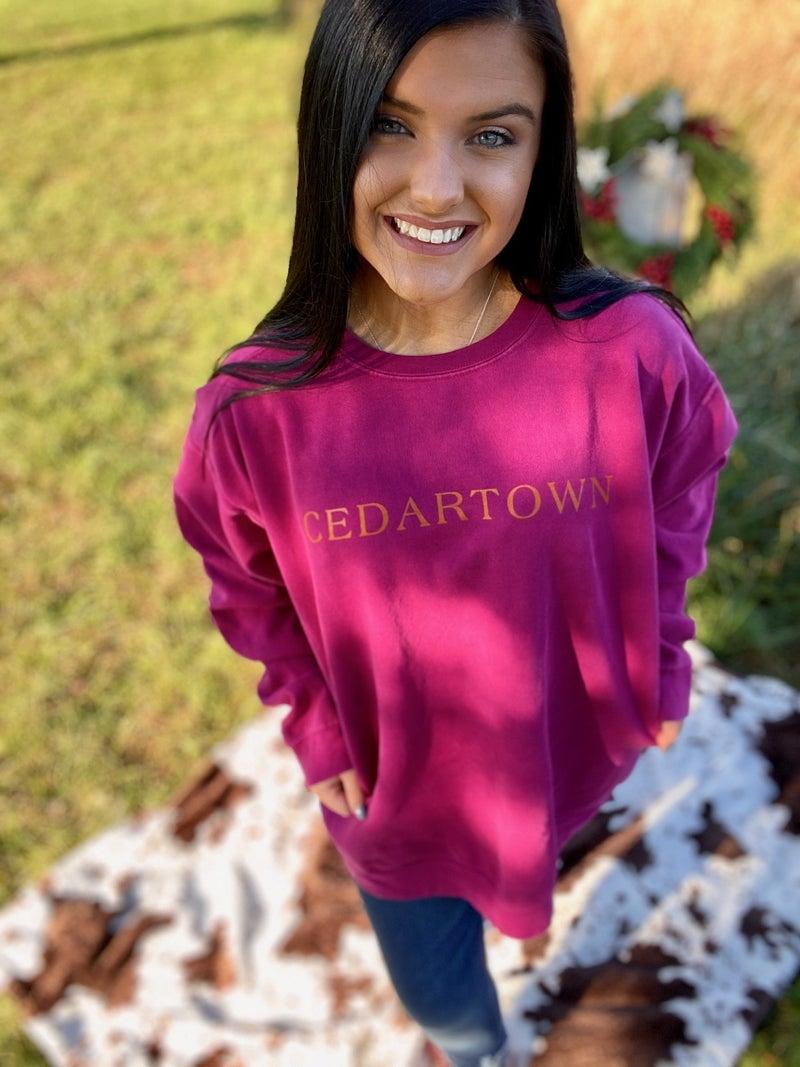 The Cedartown Style Sweatshirt