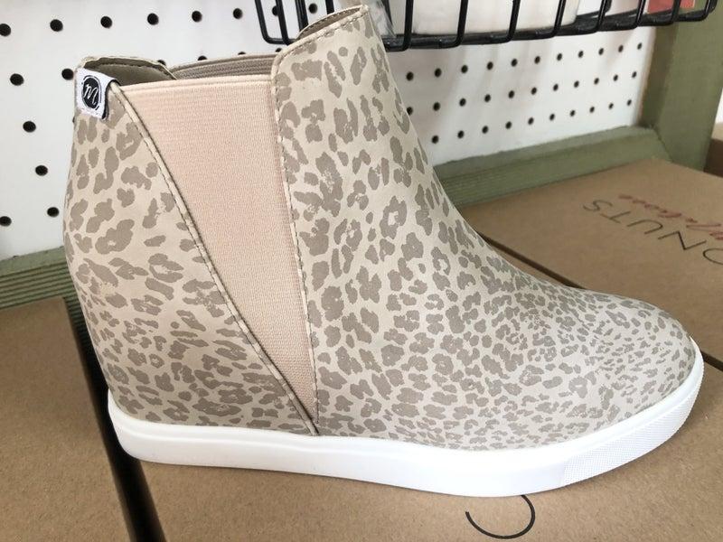 The Leo Leopard Wedged Sneaker