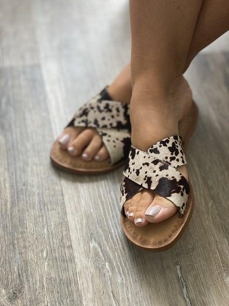 Moove On Over Sandal