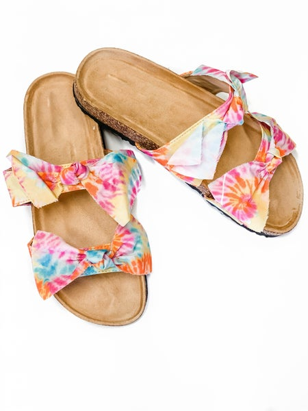 The Sophie Sandals Tiedye *Final Sale*