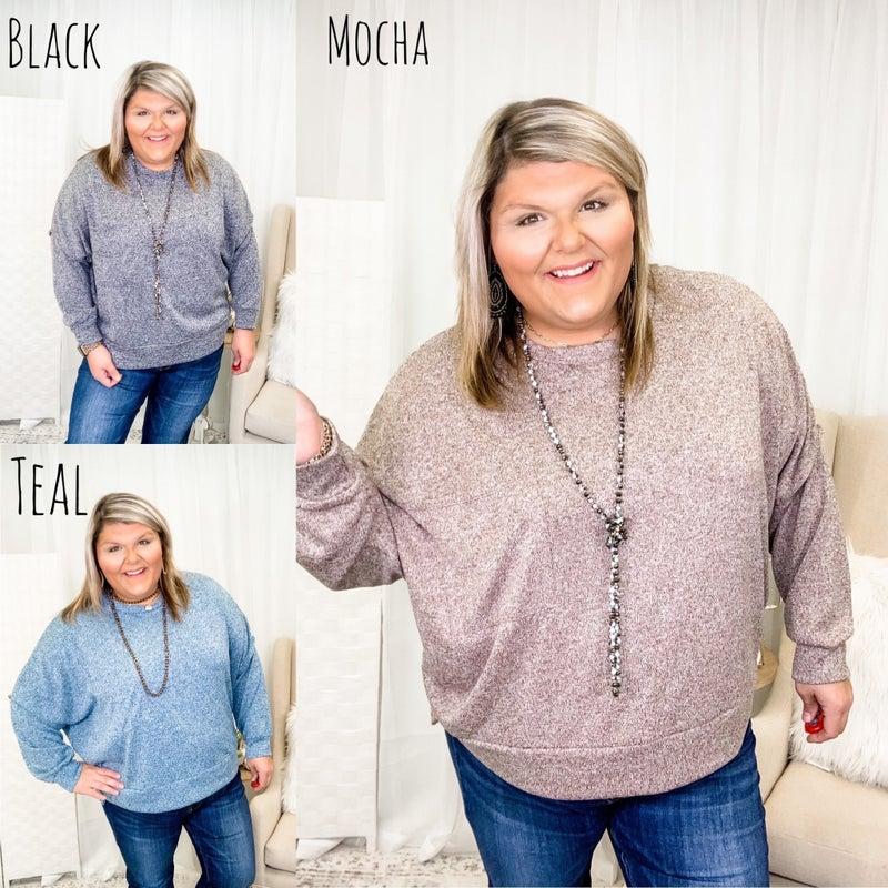 Warm Smiles Sweater Plus *Final Sale*