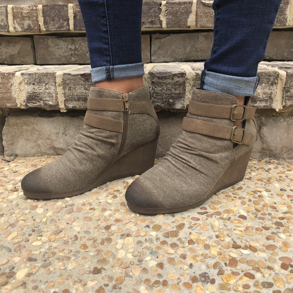 A New Direction Booties