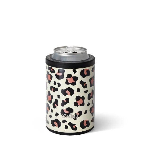 Luxy Leopard Swig Combo Cooler