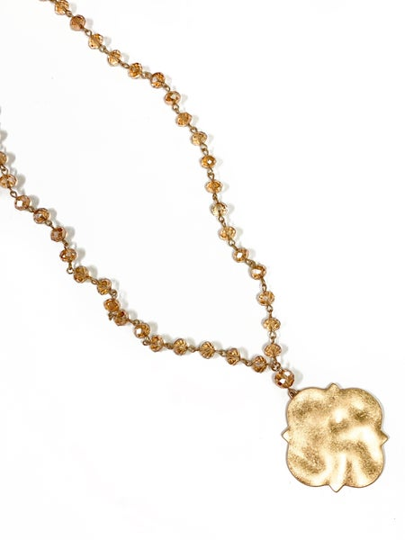 The Morgan Necklace Gold