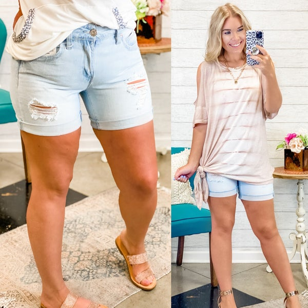 The Olivia Shorts Light *Final Sale*