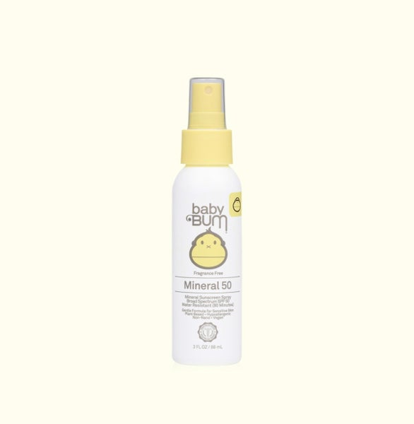 Baby Bum SPF 50 Mineral Sunscreen Spray