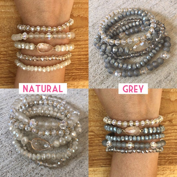 Find Your Way Bracelet Stack